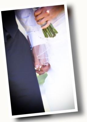 Holding Hands Frame