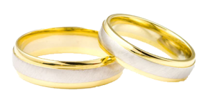 stock photo wedding rings