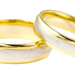 trans photo wedding rings