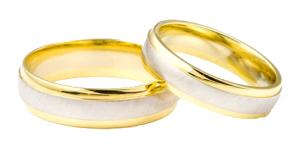 trans photo wedding rings